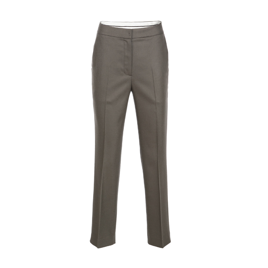 Tapered fit slacks Khaki