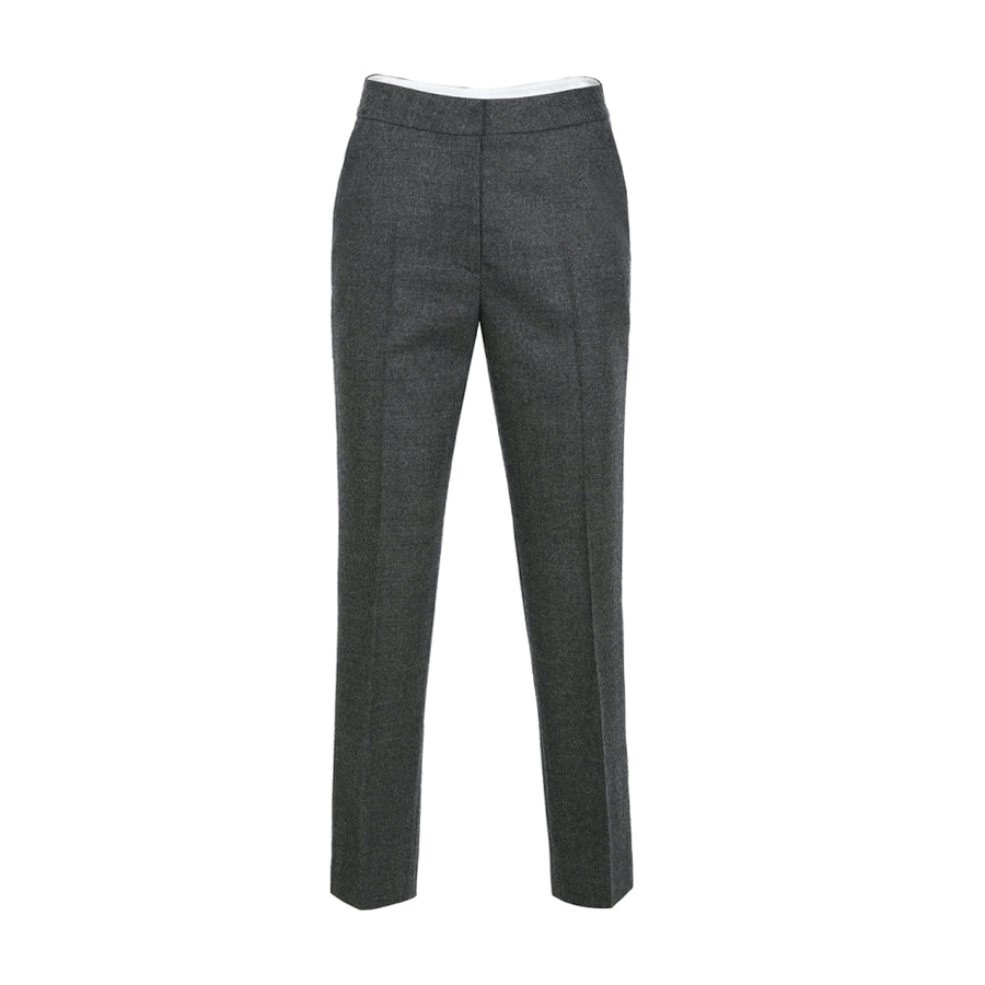 Tapered fit slacks Ash
