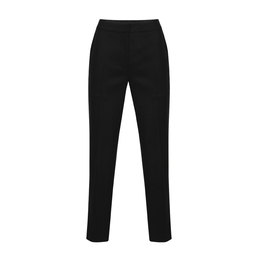 Tapered fit slacks Black