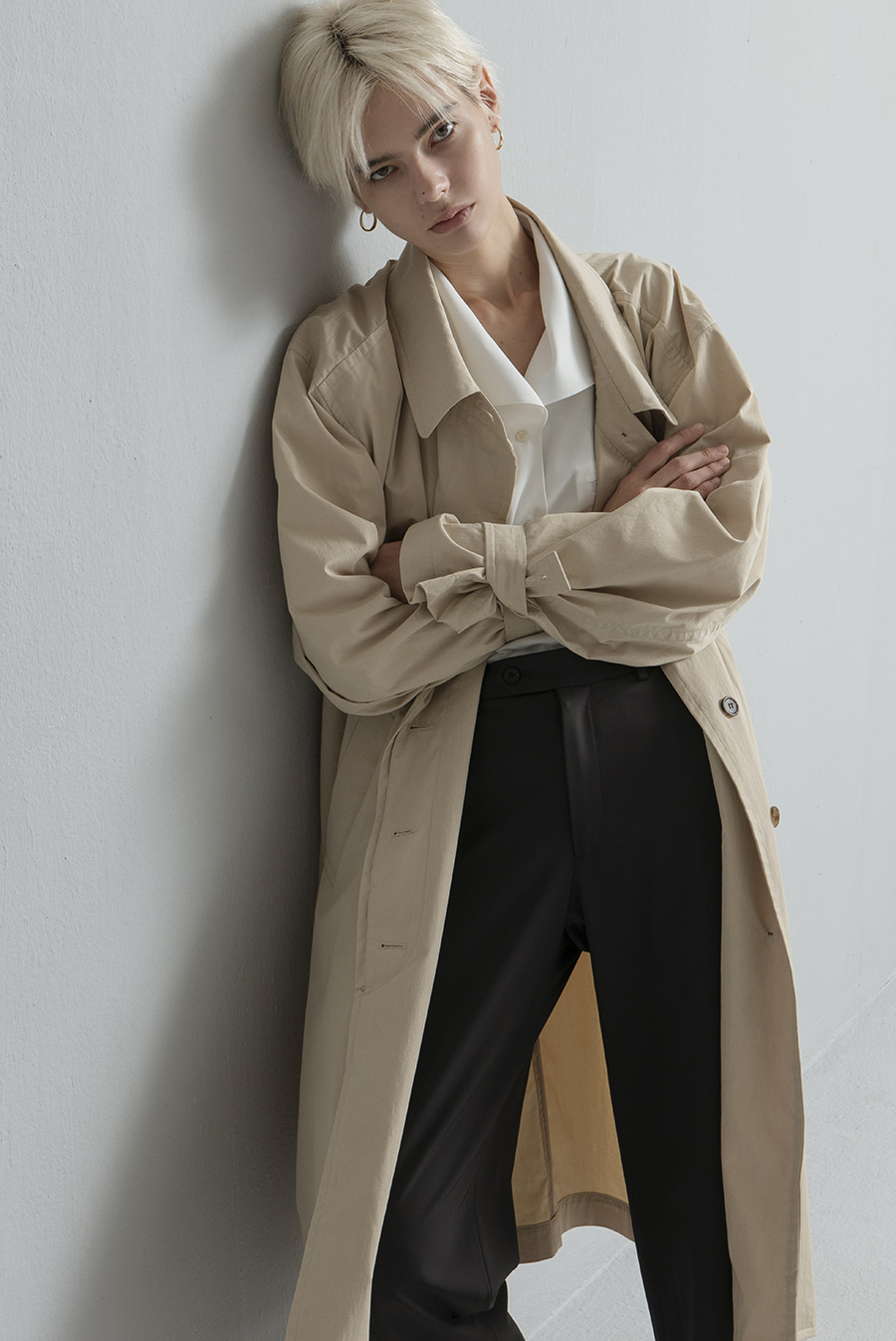 [3rd RE-ORDER] Millo coat Sand