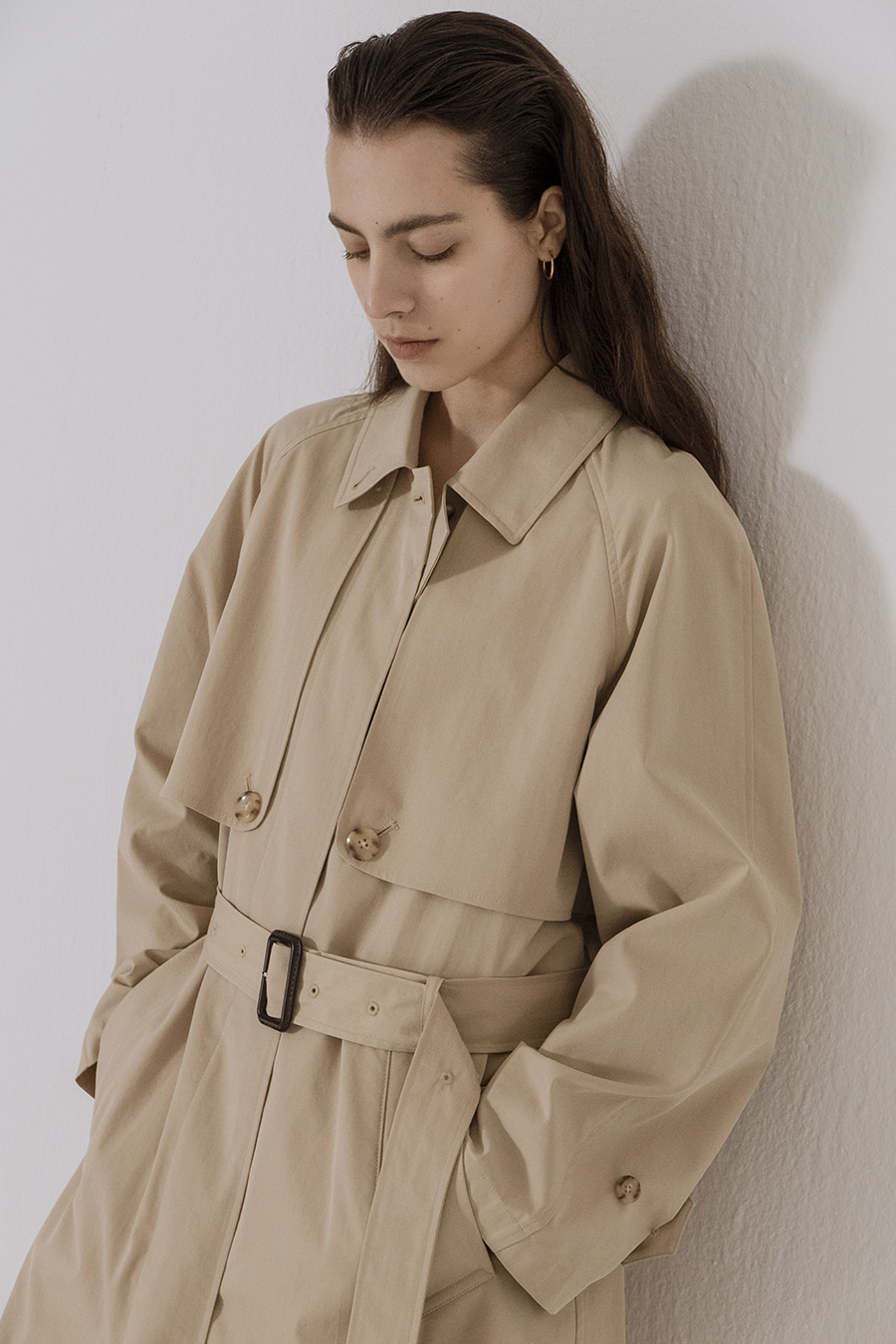 Trench coat Vanilla beige
