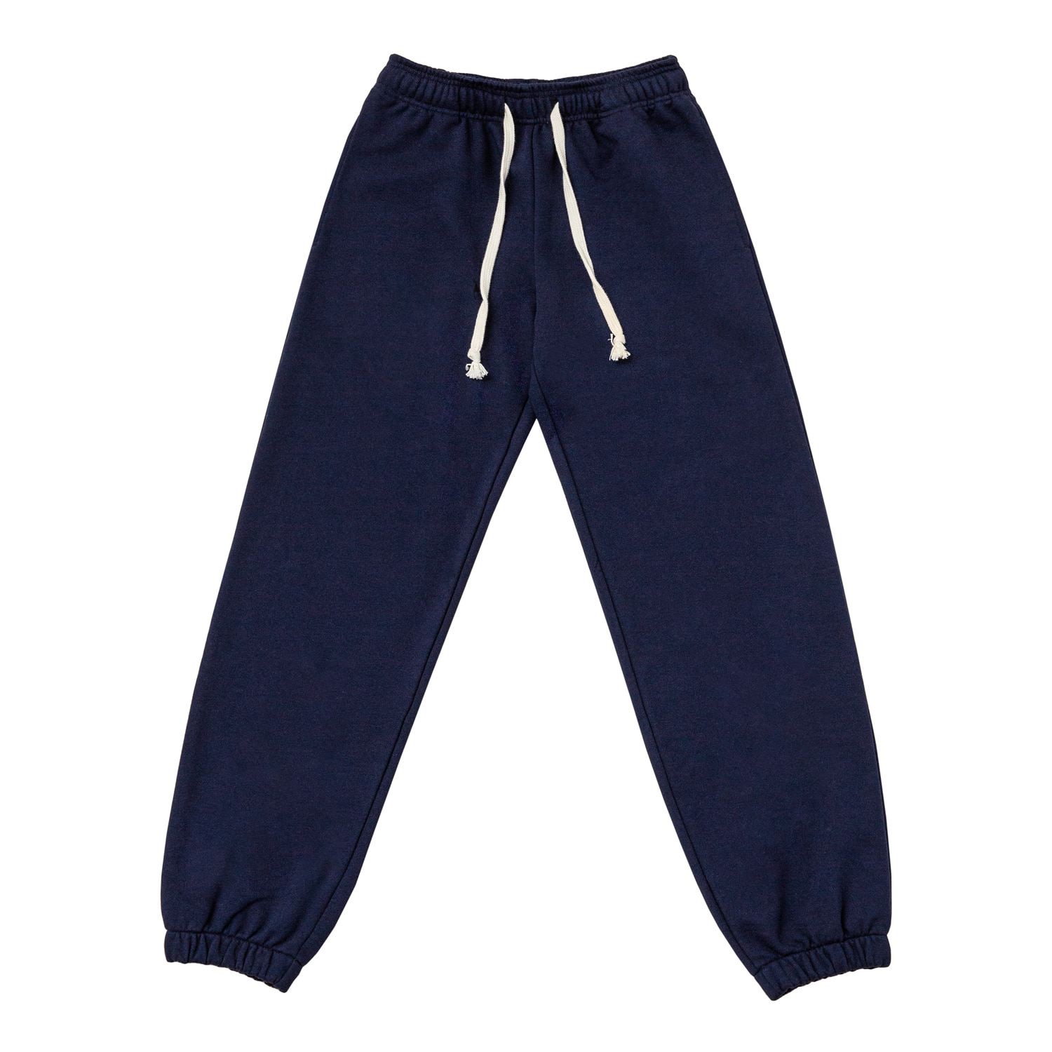 2nd RE) ORE COTTON 005 jogger PT Navy