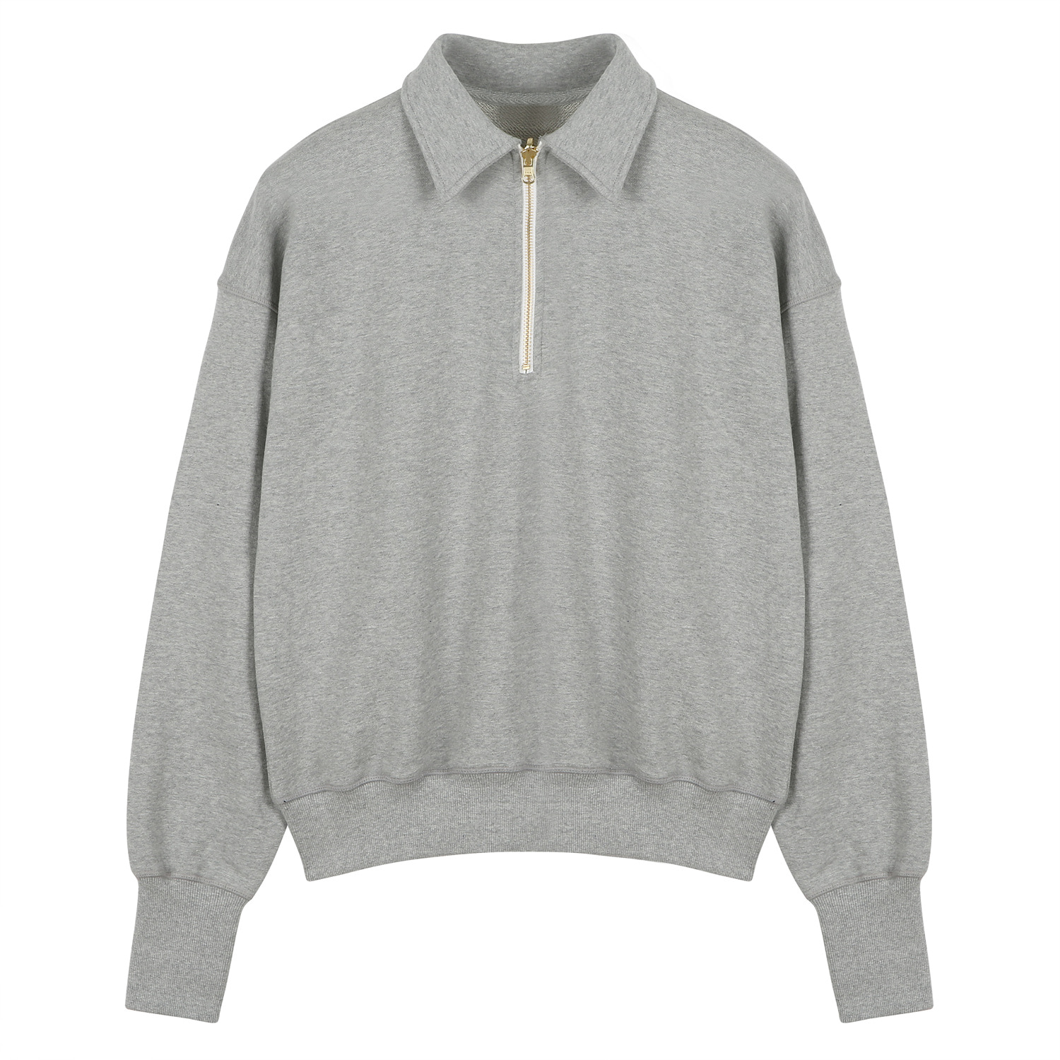 7th RE) ORE COTTON 001 zip-up M.Grey